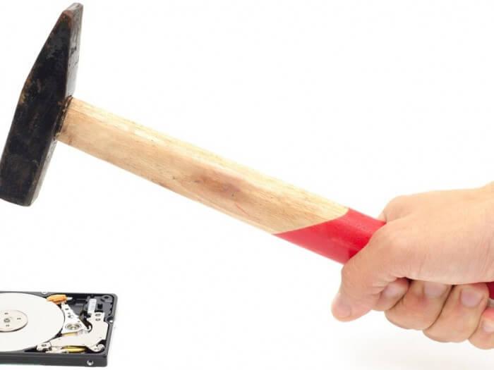 Harddisks veilig vernietigen | LOSNING ICT