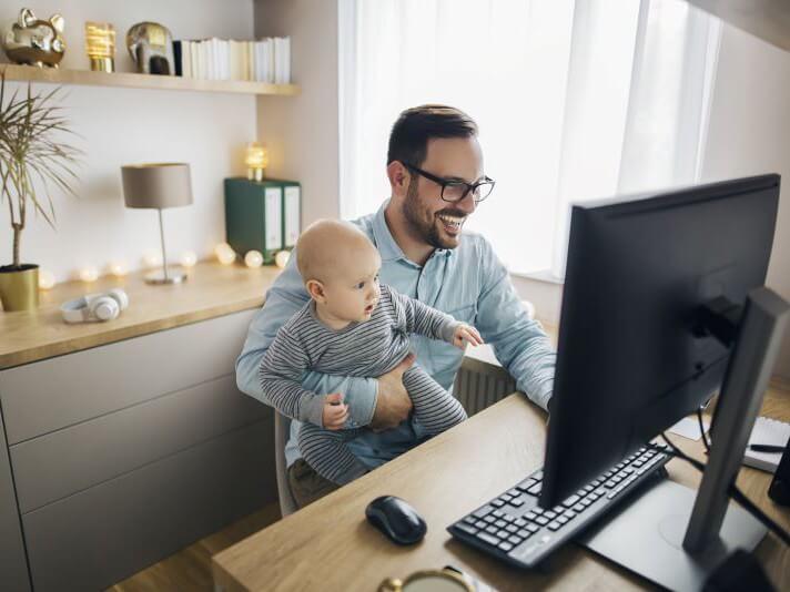 Hoe richt jij thuis je werkplek in | LOSNING ICT